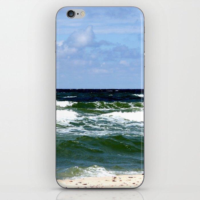sea calling iPhone Skin