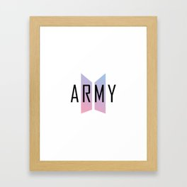 BTS Army Framed Art Print
