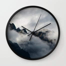 Shrouded in Mystery Wall Clock