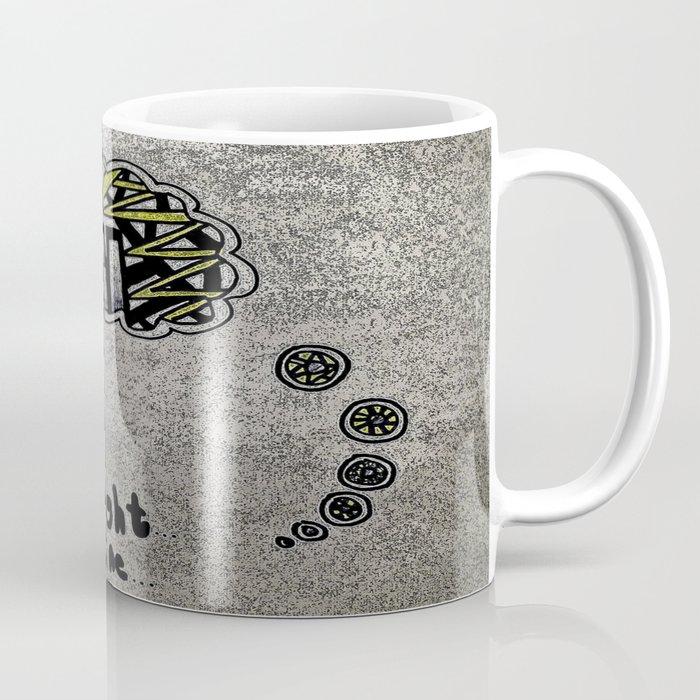 Line of Thought Coffee Mug