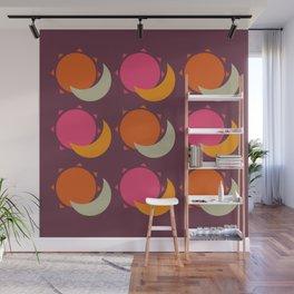 sun and moon Wall Mural