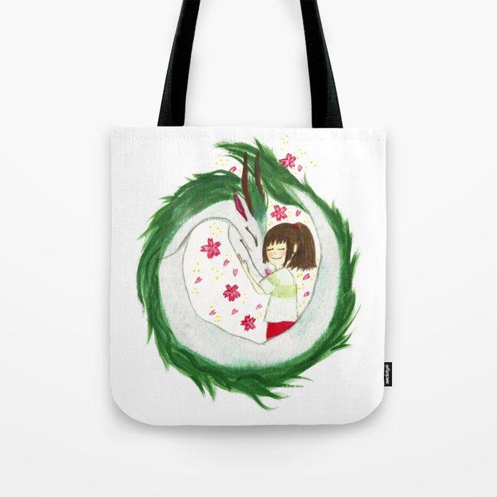 Watercolor Spirited Away - The Love Gathering Tote Bag