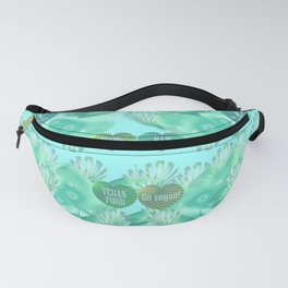 Abstract vegan pattern Fanny Pack