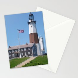 Montauk the end Stationery Cards
