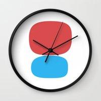 milan Wall Clocks featuring Milan by Magic Window