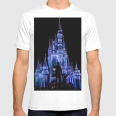 Magical White Mens Fitted Tee MEDIUM