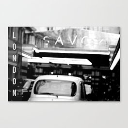 London Savoy hotel Canvas Print