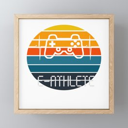 e-athlete Framed Mini Art Print