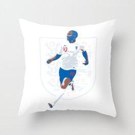 Raheem Sterling - Rahw Speed Throw Pillow