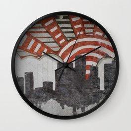 Rain City Wall Clock