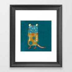 Monster Esme Framed Art Print