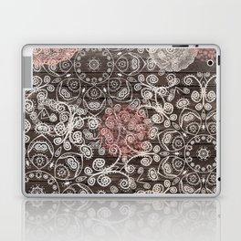 HAPPY GO LUCKY - BOHO WOOD Laptop & iPad Skin