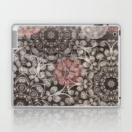 HAPPY GO LUCKY - BOHO WOOD Laptop & iPad Skin