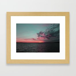 Colorful Sunset_2 Framed Art Print