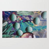 pills Area & Throw Rugs featuring Pills by John Turck