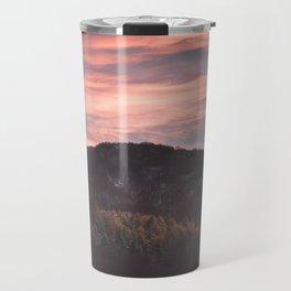 Autumn sky - Landscape and Nature Photography Travel Mug