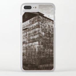 Grain Elevator 2 Clear iPhone Case