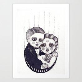 One of us Art Print