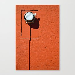 Industrial Red Canvas Print