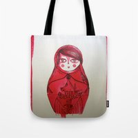 the smiths Tote Bags featuring the smiths by PakoKanem