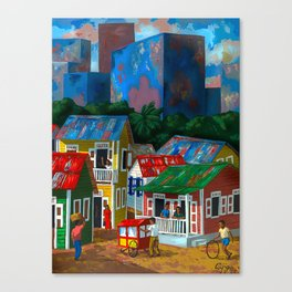 Santurce Canvas Print