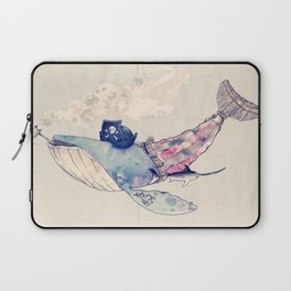 Pirate Whale Laptop Sleeve