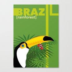 Brazil [rainforest] Canvas Print