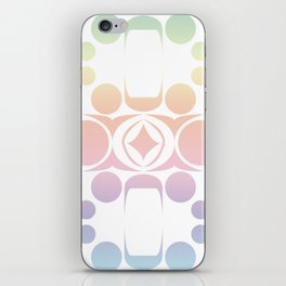Future Abstract Alien Symbol Cotton Candy iPhone Skin