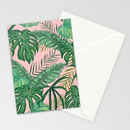 Tropical Greens Stationery Cards