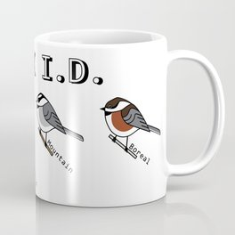 CHICK I.D. Chickadee Coffee Mug