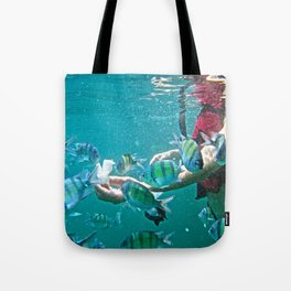 Feeding Time! Tote Bag