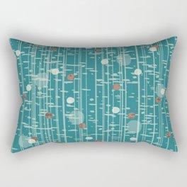 Birch Line Dots Rectangular Pillow