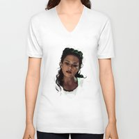 melissa smith V-neck T-shirts featuring Melissa by @cuisle