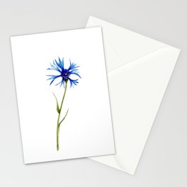 Simple Cornflower Stationery Cards