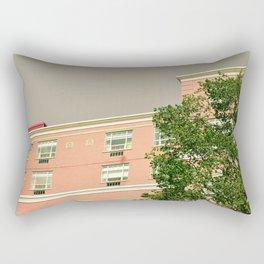 Pink Apartment House Rectangular Pillow