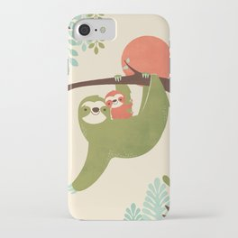 Mama Sloth iPhone Case