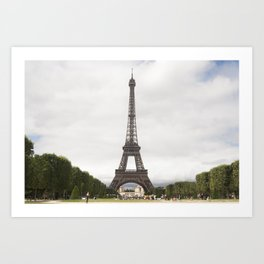 Metal tower Art Print
