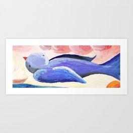 Bluebird II Art Print