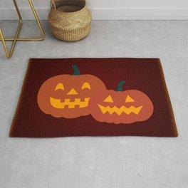 Jack-o-lanterns & Pattern Rug
