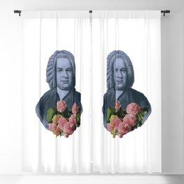 Bach Flowers Blackout Curtain