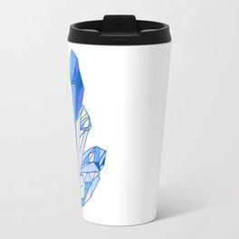 Blue crystal Travel Mug