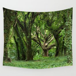 Tree of Life, Honolua Bay, Hawaii Wall Tapestry
