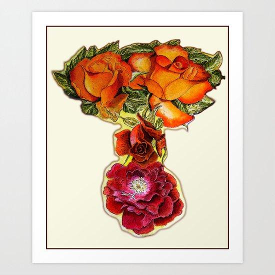 Roses 4 YOU Art Print