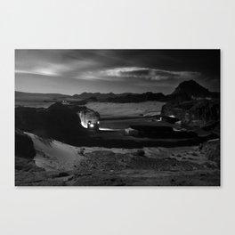 Untitled: Full Moon Canvas Print