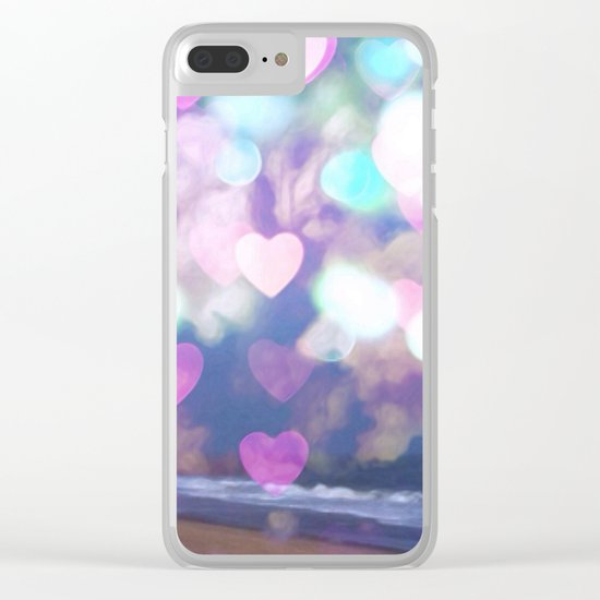 Dream Lover Clear iPhone Case
