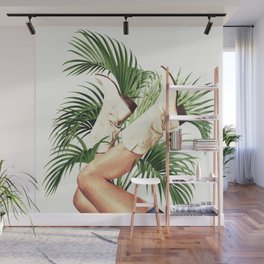 These Boots - Palm Leaves Wall Mural