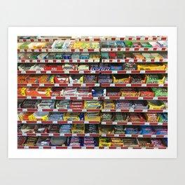 Candy! Art Print