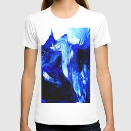 Dancing In Blue No. 1 by Kathy Morton Stanion T-shirt