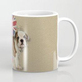English Bulldog Puppy Sketch Coffee Mug