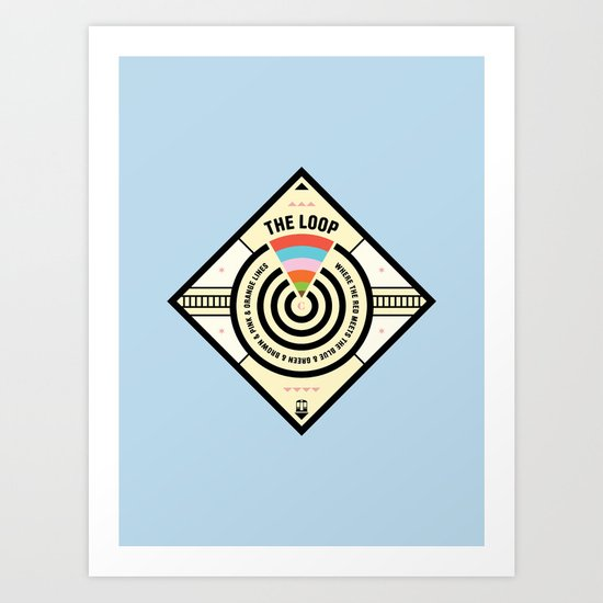 Chicago Print - The Loop Art Print